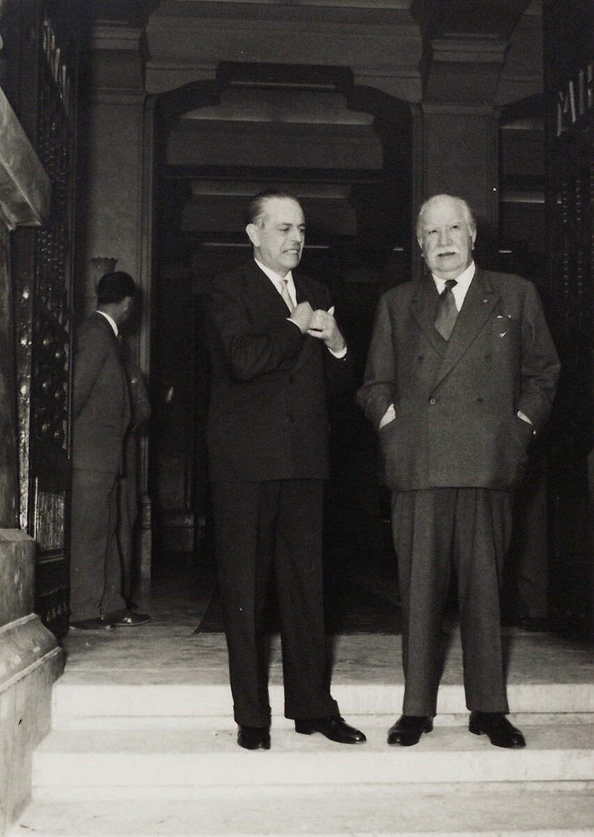 Gaetano Martino and Joseph Bech