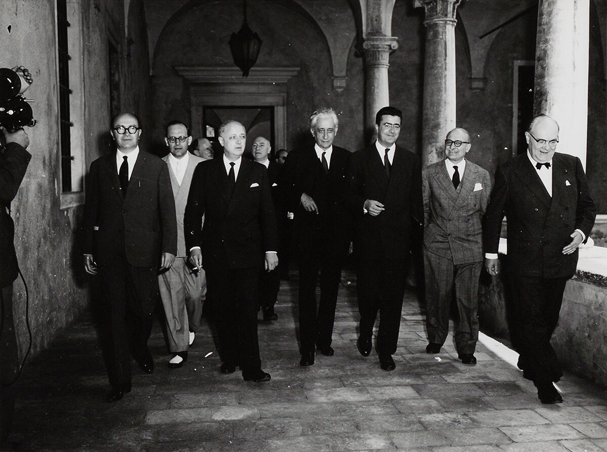 Group photo of the partecipants of the Conference of Venice